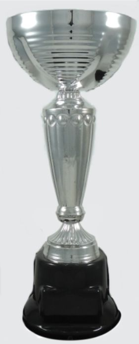 Copa Metálica Base de Plástico