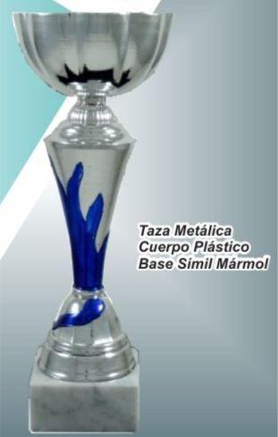 Copa Metálica Base de Mármol